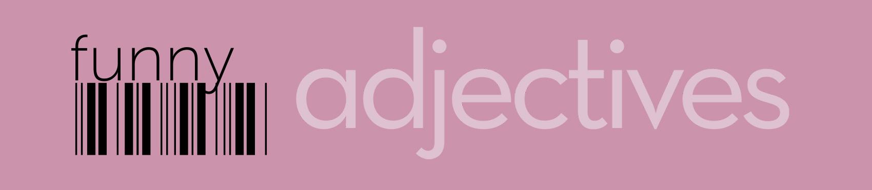 Adjectives logo ideas
